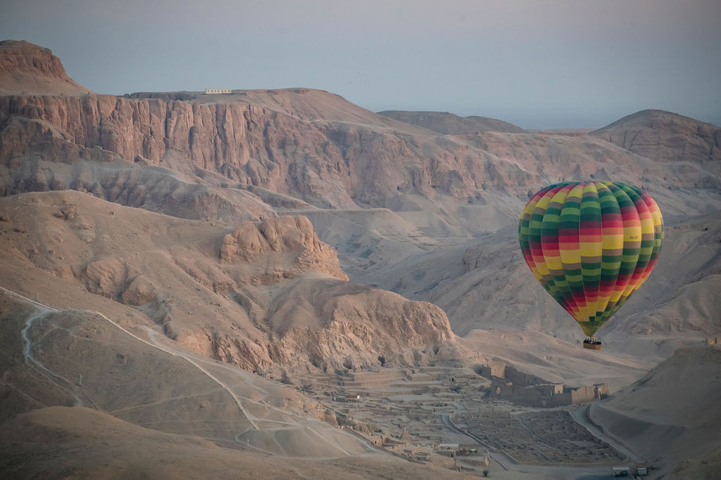 Hot Air Balloon Ride, Valley of the Kings and Queens