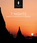 7 Night Itinerary (Bagan - Mandalay - Bagan)