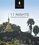 11 Night Itinerary (Yangon - Mandalay)